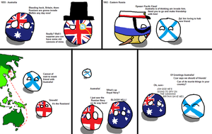 Australia afraid of Russian invasion for no reason by adjt111