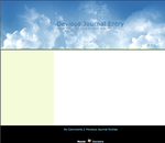 Sky Days Journal CSS by mc-cool