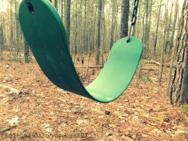 365 Project-Day 68: Lonely Swing by hourglass-paperboats