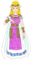 Princess Zelda by DoctorEvil06