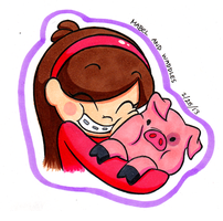 Mabel and Waddlezzz by Blue-Hoodie