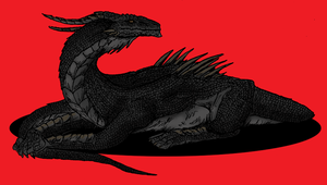 Black Dragon of Brum by Shabazik