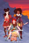 Rat Queens cover by gottabecarl