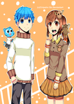 .:''The Amazing World Of Gumball=Gumball-Penny'':. by ciripahn