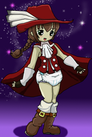Padded Red mage by toddlergirl