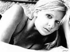 Sarah Michelle Gellar No.2 by amberj8