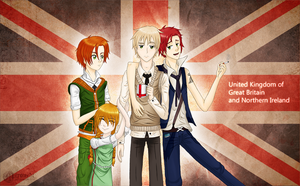 United Kingdom by Mirouchi