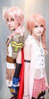 Serah And Lightning by Wataru12012