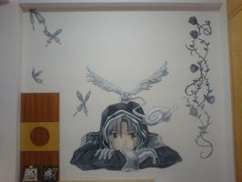 Allen Walker wall by kagami-hy