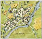Val Modrum village map by Blaidd--Drwg