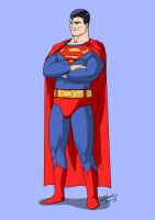 Superman Animated by MangleDangle