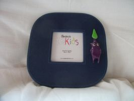 Purple pikmin photo frame by chaobreeder16