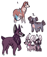 =OPEN= CANINE ADOPTS: 5/5 by majestic-melon