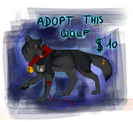 Adopt lantern wolf  [OPEN] by lauraacan