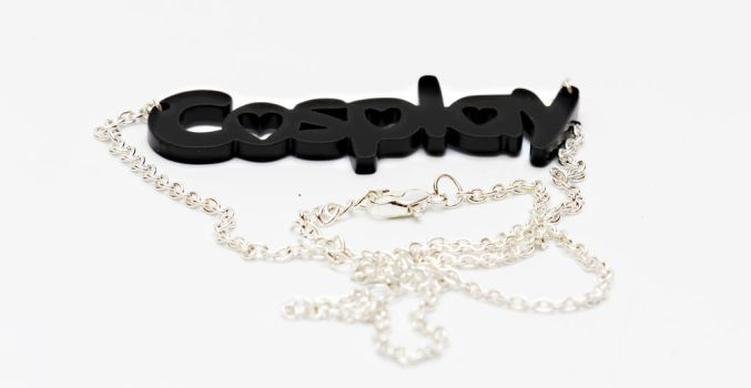 Cosplay necklace - Black Sheep by DustbunnyCosplay