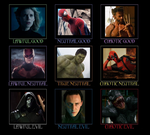 Marvel Movies Alignment Chart by alefolla