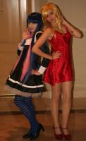 Panty and Stocking: Strike A Pose by megasxlrfan
