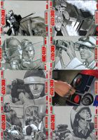 Star Wars 30 sketch cards pt5 by gattadonna