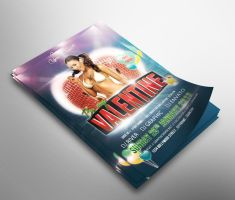 Valentine Party Flyer by snkdesigns