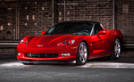 Red Corvette C6 by AmericanMuscle
