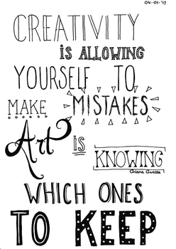 Hand lettering Art by Ariana-1997