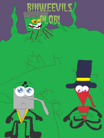 Binweevils Plob Front Cover by Emilythebrawler
