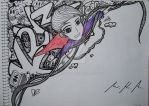 Doodle: I'm on the other side. by MarcKevzZ