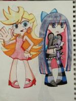 Panty and Stocking by Imtailsthefoxfan