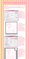 icon tutorial by samiesaurus