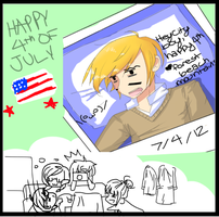 Happy 4th of July by Aekamii