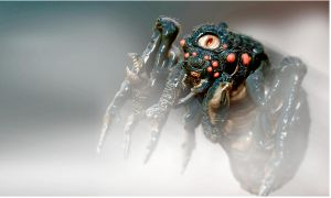 Zbrush Spider by MickyFirebird