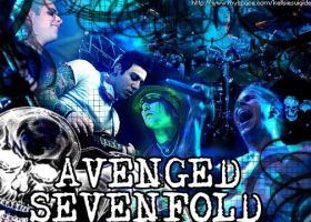 Avenged Sevenfold in blue by ArtificialAngel6