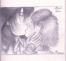 Alucard and Seras by icediamond7