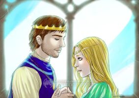 The King and his Queen by CristianaLeone
