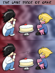 The last piece of cake... by ninjassinwolf