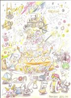 Happy New Year 2011 Kirby by DeekirbyDeeL