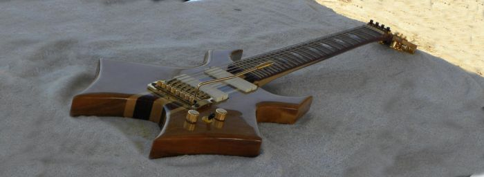 WidowMaker 8 string Baritone Guitar (view 3) by Nate-Juggernaut