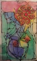 An abstract with color by silverolivia