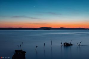 Blue Lake by rristee