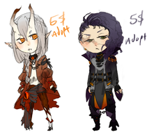AUCTION: Royal Outlaw and Brigadier Adopts-CLOSED by frappuu