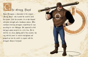 Fairy Tales gone Spandex - The strong Hans by deralbi