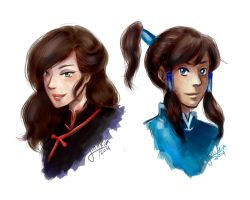 TLOK: Da Girls by LiniAriva