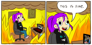 This Is Fine by Ch4rm3d