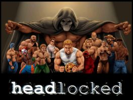 Headlocked with logo by VinRoc