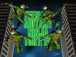 fan art - tmnt by doberdog