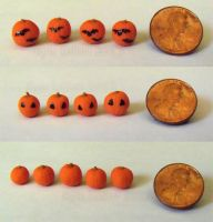 Miniature Pumpkins - Painted and Plain by Kyle-Lefort