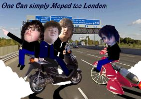 One Can Simply Moped To London by EpicOverload