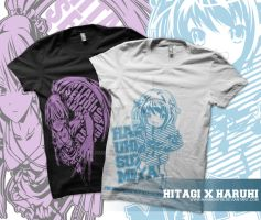 HaruHitagi Shirt Design by harmony06