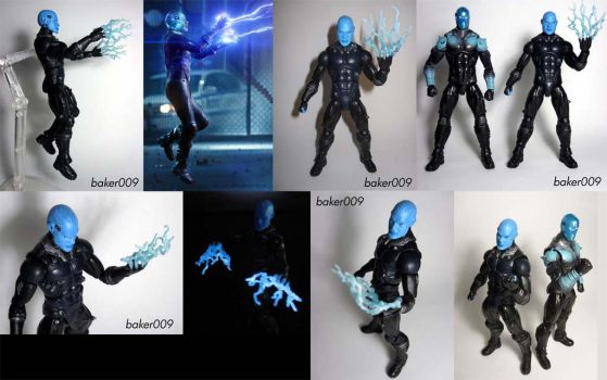 Amazing Spider-Man 2 Movie Electro Custom figure by Baker009