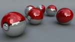 Pokeballs by mynameisp0